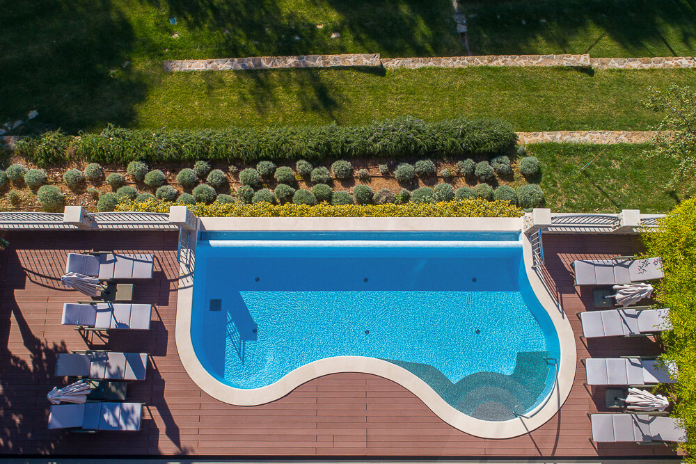 Villa Vlastelini - swimming pool