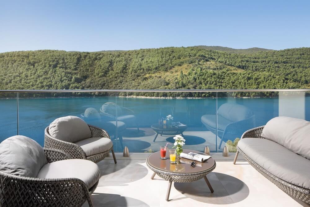 Villa Vlastelini II - terrace