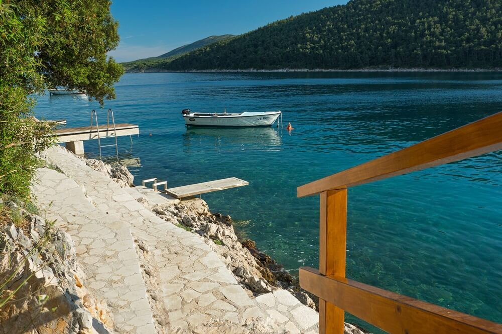 Villa Vlastelini II - Access to Pontoon